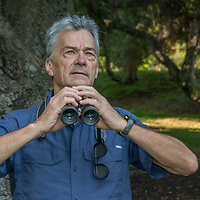 Gerry Hans, president of the Friends of Griffith Park, spearheaded the raptor research project.