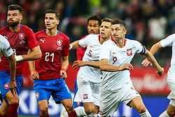 November 15, 2018 - Gdansk, Poland - Robert Lewandowski of Poland during the international friendly soccer match between Poland and Czech Republic at Energa Stadium in Gdansk, Poland on 15 November 2018. (Credit Image: © Foto Olimpik/NurPhoto via ZUMA Press)