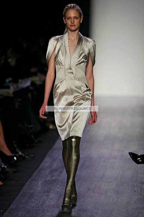 Tabea Koebach wearing the BCBG Max Azria Fall 2009 Collection