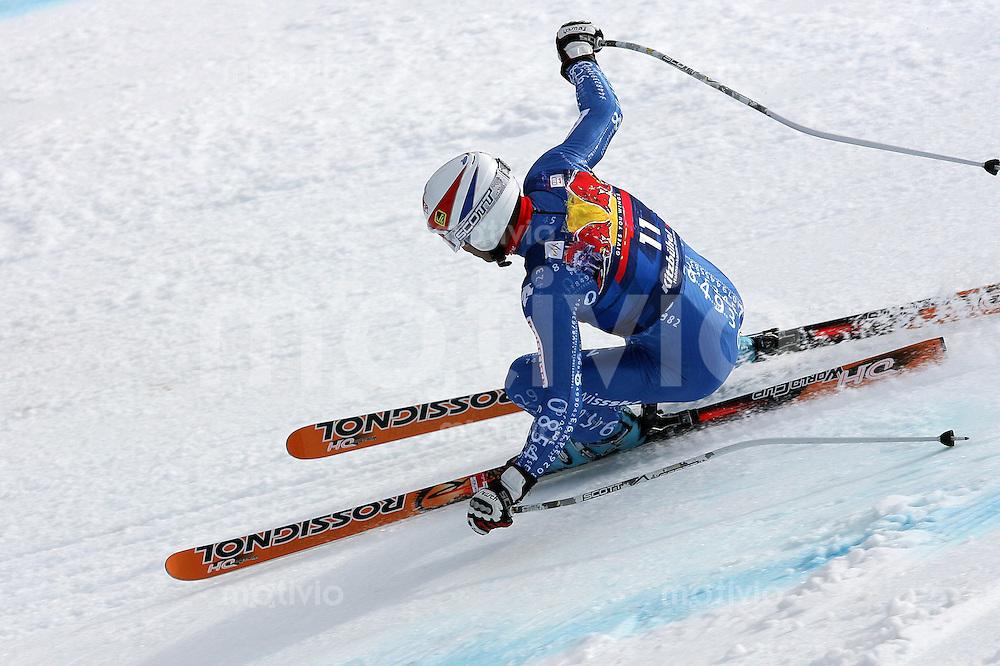 Ski Alpin;  Saison 2007/2008  15.01.2008 68. Hahnenkamm Rennen Abfahrt Didier Defago (SUI)