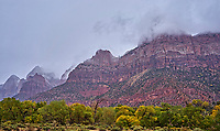 In and around the Watchman at Zion National Park in Utah.