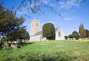 Parish church of All Saints, Great Glemham, Suffolk, England