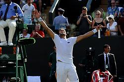 July 7, 2018 - Angleterre - Wimbledon - Jiri Vesely Republique Tcheque (Credit Image: © Panoramic via ZUMA Press)