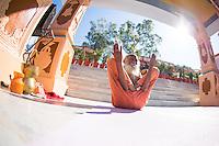 Swami Yogananda at Paramath Niketan Ashram