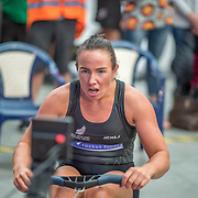 RNZ Big Cats Open Olivia Loe  Female Relays Race #24  03:00pm <br /> <br /> www.rowingcelebration.com Competing on Concept 2 ergometers at the 2018 NZ Indoor Rowing Championships. Avanti Drome, Cambridge,  Saturday 24 November 2018 © Copyright photo Steve McArthur / @RowingCelebration