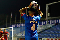 Liam Hogan. Stockport County FC 4-0 Chesterfield FC. Emirates FA Cup. 4.11.20