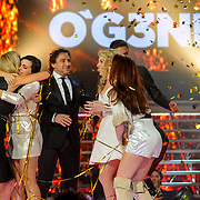 NLD/Hilversum/20141219- Finale The Voice of Holland 2014, winnaars O'gene