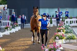 Bond Ashlee, ISR, Donatello 141, 351<br /> Olympic Games Tokyo 2021<br /> © Hippo Foto - Dirk Caremans<br /> 31/07/2021