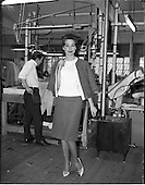 1962 - Tweed fashion at Perrys