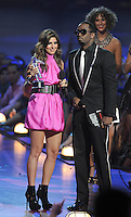 New York, NY-September 13, 2009: Jamie Lynn Sigler and Diddy perform during the MTV Video Music Awards at Radio City Music Hall on September 13, 2009 in New York City (Photo by Jeff Snyder/PictureGroup)