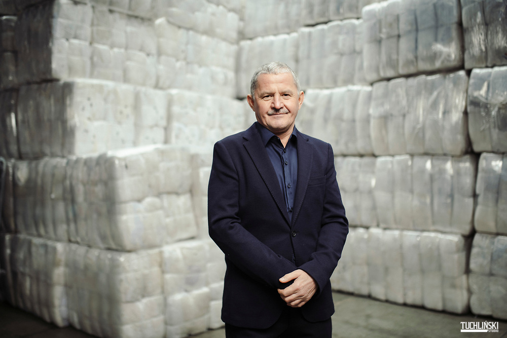 Skarzysko-Kamnienna, Polska ; 17.12.2018r.  Leszek Wojteczek prezes firmy Wtorpol. <br /> Fot. Adam Tuchlinski dla Forbes