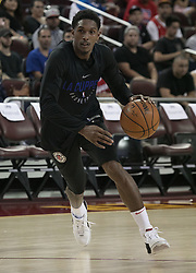 October 10, 2017 - Los Angeles, California, U.S - Lou Williams #23 of the Los Angeles Clippers during their Free Open Practice for fans held on Tuesday October 10, 2017 at the Galen Center in USC in Los Angeles, California. (Credit Image: © Prensa Internacional via ZUMA Wire)