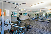 Fitness Center Photographed at Sunset Winds Apartments Henderson, NV, USA