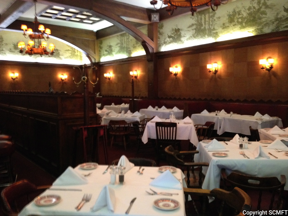 2013 Interior of Musso & Frank Grill