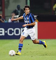 "Milano 02/10/2007 Stadio ""Giuseppe Meazza""<br /> Champions League<br /> Group G - Matchday 2 -Inter Psv (2-0)<br /> Francesco Bolzoni (Inter)<br /> Foto Luca Pagliaricci Insidefoto"