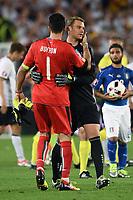 Gianluigi Buffon-Manuel Neuer<br /> Paris 02-07-2016 Parc des Princes Football Euro2016 Germany - Italy/ Germania - Italia<br /> Round of 4, Foto Matteo Gribaudi/Image Sport/ Insidefoto
