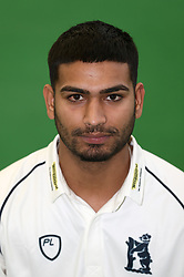 Sunny Singh during the media day at Edgbaston, Birmingham. PRESS ASSOCIATION Photo. Picture date: Thursday April 5, 2018. See PA story CRICKET Warwickshire