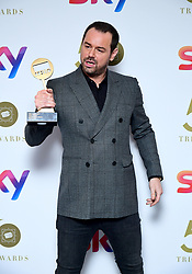 Danny Dyer attending the TRIC Awards 2019 50th Birthday Celebration held at the Grosvenor House Hotel, London.
