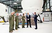 Koning Willem-Alexander bezoekt Defensie Helikopter Commando