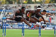 Ronald Levy (JAM) competes in 110m Hurdles Men during the Meeting de Paris 2018, Diamond League, at Charlety Stadium, in Paris, France, on June 30, 2018 - Photo Julien Crosnier / KMSP / ProSportsImages / DPPI