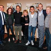 NLD/Volendam/20130208 - Presentatie Helden 17, Jan Smit, Frank de Boer, benno Leeser en partner Kitty, Barabara Barend en Frits Barend