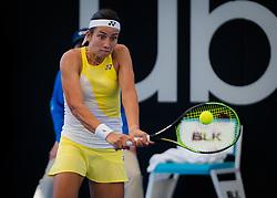 January 1, 2019 - Brisbane, AUSTRALIA - Anastasija Sevastova of Latvia in action during her first-round match at the 2019 Brisbane International WTA Premier tennis tournament (Credit Image: © AFP7 via ZUMA Wire)