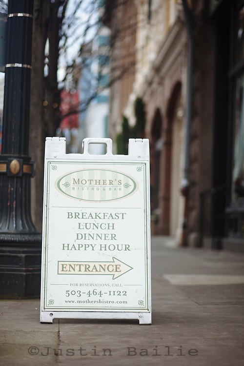 One of Portland's favorite breakfast restaurants, Mother's Bistro and Bar in Portland, OR>