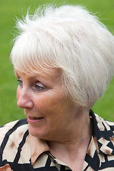 Portrait of a older woman in the park,