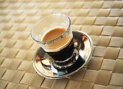 Short black coffee