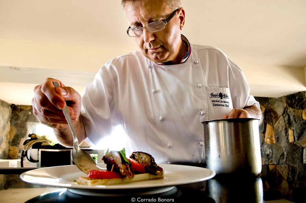 Michel De Matteis, Executive Chef. Royal Palm Hotel. Grand Baie, Mauritius