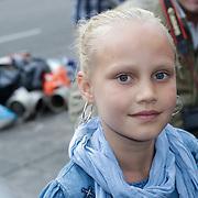 NLD/Amsterdam/20120713 - Vrijgezellenfeest Micky Hoogendijk en Adam Curry, nichtje