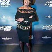 NLD/Zaandam/20190128- première musical Op Hoop van Zegen, Jose Hoebee