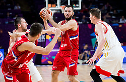 Milan Macvan of Serbia during basketball match between National Teams of Russia and Serbia at Day 16 in Semifinal of the FIBA EuroBasket 2017 at Sinan Erdem Dome in Istanbul, Turkey on September 15, 2017. Photo by Vid Ponikvar / Sportida