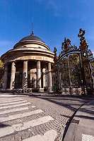 Parc Monceau Wrought Iron Gate - Parc Monceau was built in the 17th century by order of the Duke of Chartres. Today it is one of the most elegant gardens in Paris entering through a large wrought-iron gate embellished with gold visitors find many surprises: statues, a renaissance arch that once belonged to Paris City Hall, trees, a wide variety of birds and a large pond surrounded by collonades - and is well known by residents of the 18th arrondissement as a pleasant park.