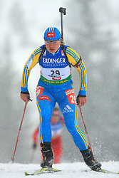 Oksana Khvostenko (UKR) at Women 15 km Individual at E.ON Ruhrgas IBU World Cup Biathlon in Hochfilzen (replacement Pokljuka), on December 18, 2008, in Hochfilzen, Austria. (Photo by Vid Ponikvar / Sportida)