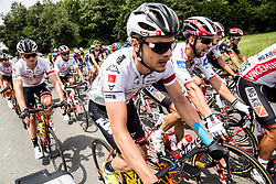 Sebastian Schoenberger (AUT) of Tirol Cycling Team during Stage 2 of 24th Tour of Slovenia 2017 / Tour de Slovenie from Ljubljana to Ljubljana (169,9 km) cycling race on June 16, 2017 in Slovenia. Photo by Vid Ponikvar / Sportida