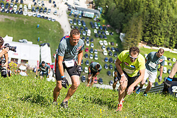 25.05.2014, Skiflugschanze Kulm, Kulm, AUT, Red Bull 400, Qualifikationsläufe Full Distance Männer, im Bild Armin Assinger // during the Red Bull 400 at the Skiflying Hill, Kulm, Austria on 2014/05/25, EXPA Pictures © 2014, PhotoCredit: EXPA/ M.Kuhnke