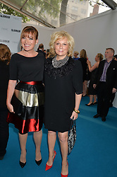 Left to right, LORRAINE KELLY and JENNIFER SAUNDERS at the Glamour Women of The Year Awards held in Berkeley Square, London on 2nd June 2015.