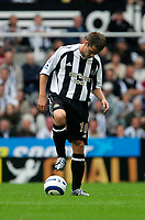 Photo: Andrew Unwin.<br /> Newcastle Utd v Fulham. The Barclays Premiership.<br /> 10/09/2005.<br /> Newcastle's Michael Owen restarts the game after Fulham score.
