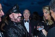 PETER MARINO; Prince Amyn Aga Khan; Venetian Heritage Gala Dinner Dance.  Hotel  Cipriani,, Venice Biennale, Venice. 9 May 2015