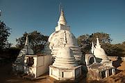 The Buddhist temple, Girikandaraya Chaitiya near Kalametiya Lagoon. South Coast.