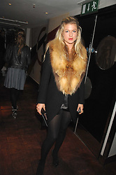 Jewellery designer PHILIPPA HOLLAND at a party to celebrate the Russian New Year in association with Stolichnaya vodka held at Harvey Nichols, London on 14th January 2008.<br /> <br /> NON EXCLUSIVE - WORLD RIGHTS