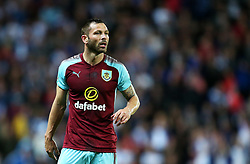 Phil Bardsley of Burnley - Mandatory by-line: Matt McNulty/JMP - 23/08/2017 - FOOTBALL - Ewood Park - Blackburn, England - Blackburn Rovers v Burnley - Carabao Cup - Second Round