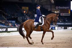 Witte-Vrees Madeleine, NED, Cennin<br /> Stuttgart - German Masters 2018<br /> © Hippo Foto - Stefan Lafrentz
