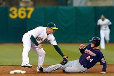 20110518 - Minnesota Twins at Oakland Athletics (MLB Baseball)