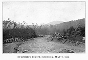 Buzzard's Roost, Georgia May 7, 1864 from the book ' The Civil war through the camera ' hundreds of vivid photographs actually taken in Civil war times, sixteen reproductions in color of famous war paintings. The new text history by Henry W. Elson. A. complete illustrated history of the Civil war