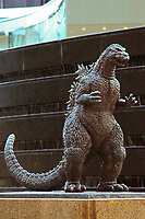 Tokyo Godzilla Statue, Hibiya
