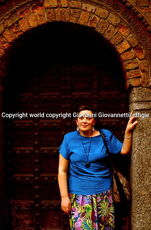 Tatiana Tolstaja<br />world copyright Giovanni Giovannetti/effigie / Writer Pictures<br /> <br /> NO ITALY, NO AGENCY SALES / Writer Pictures<br /> <br /> NO ITALY, NO AGENCY SALES