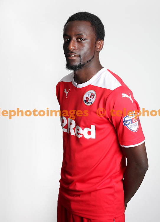 Crawley Town FC player Bobson Bawling.<br /> James Boardman/ TELEPHOTO IMAGES