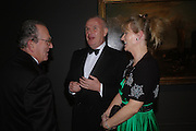 Harry Djanogly, Mr. and Mrs. Paul Myners. Turner Whistler Monet, exhibtion opening dinner, Tate Britain. 7 February 2005, ONE TIME USE ONLY - DO NOT ARCHIVE  © Copyright Photograph by Dafydd Jones 66 Stockwell Park Rd. London SW9 0DA Tel 020 7733 0108 www.dafjones.com